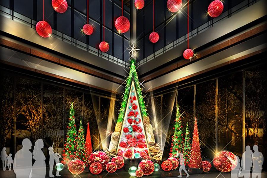 Marunouchi Bright Christmas 2017-Blooming Anniversary~花で彩るクリスマス~-