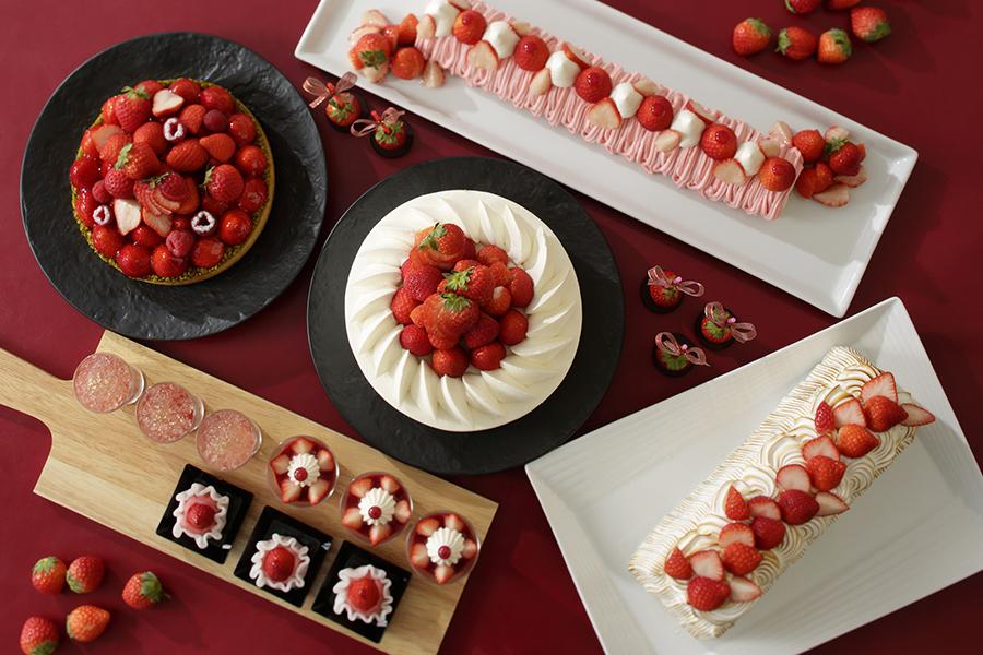 横浜ベイシェラトン ホテル&タワーズ ナイトスイーツブッフェ「スイーツパレード~Strawberry~」