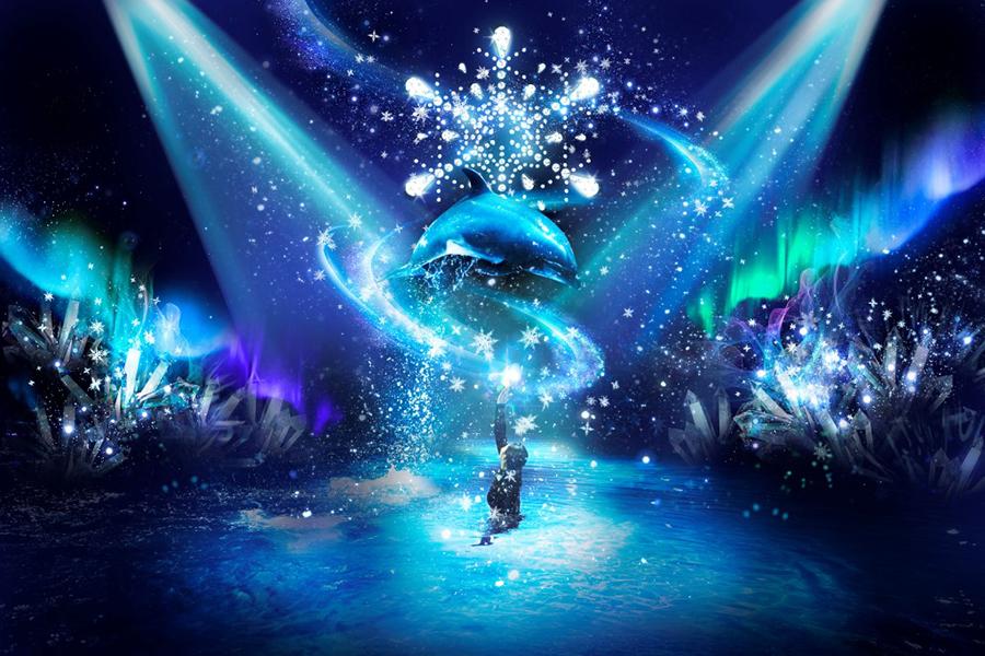 SNOW AQUARIUM by NAKED -CRYSTAL MAGIC-