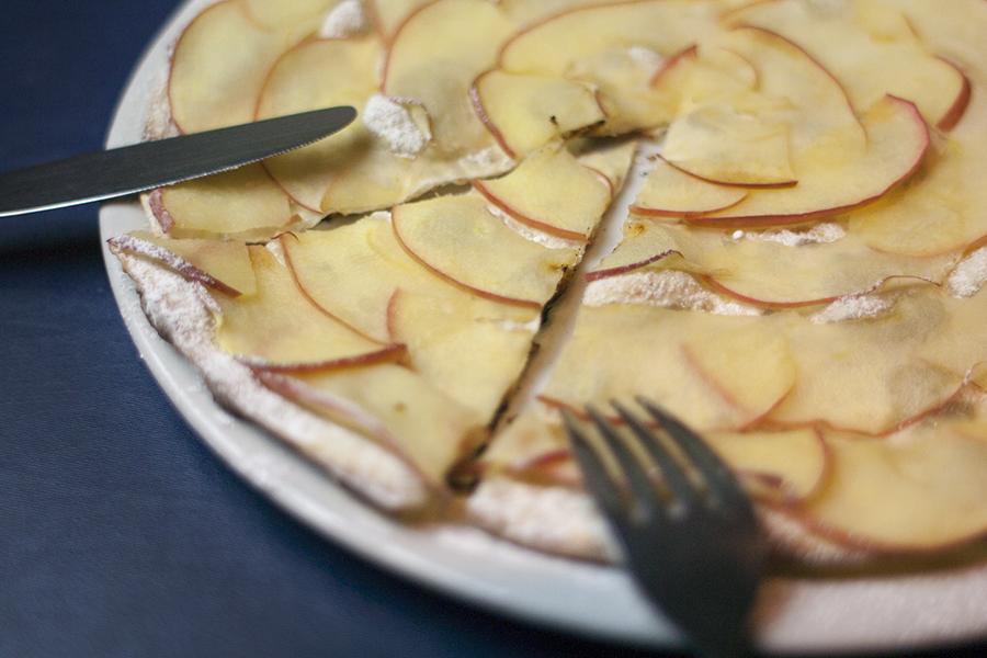 マーノマッジョ りんごのピッツァ