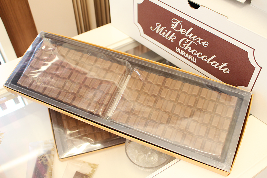 YURAKU CHOCOLATE SHOP 店舗限定の板チョコやクッキー