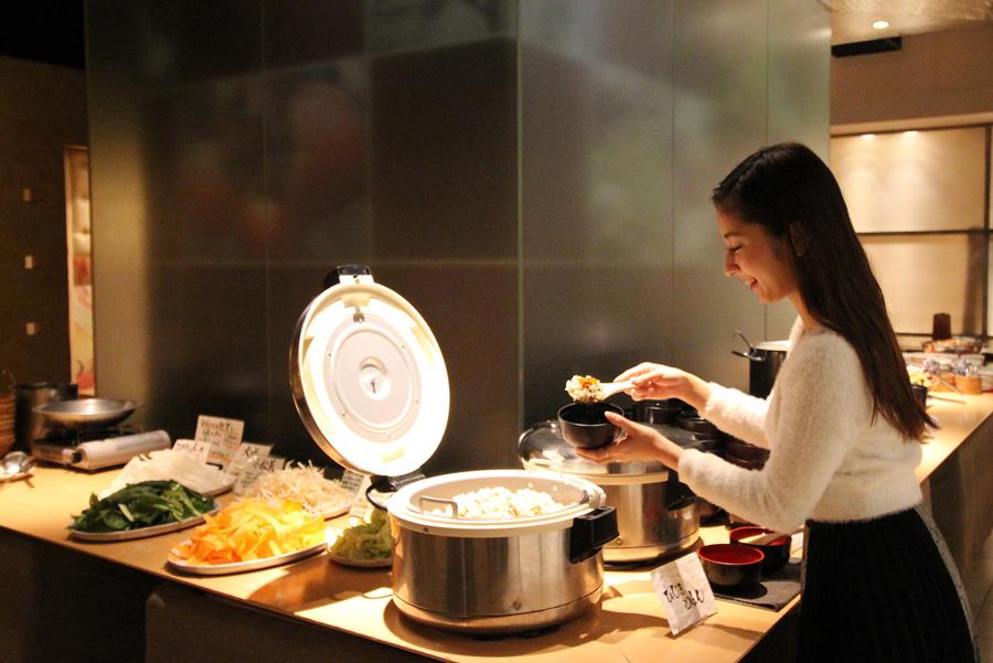 畑の厨 膳丸新宿店ランチビュッフェ