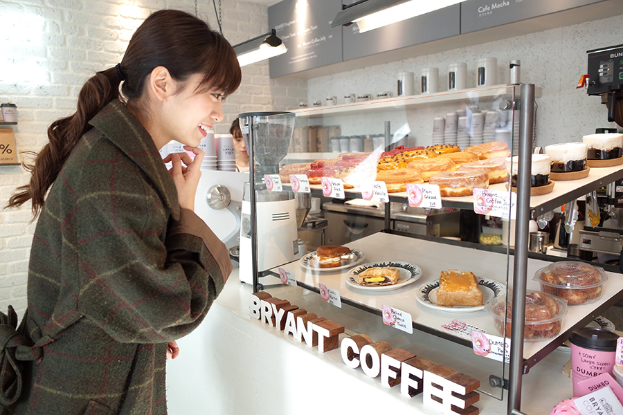 BRYANT COFFE内観