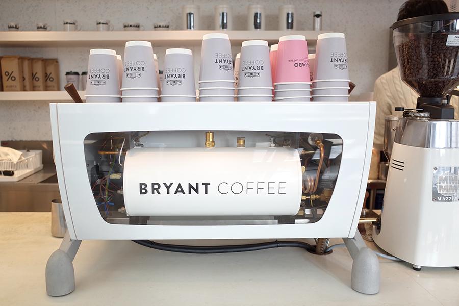 BRYANT COFFEコーヒーマシーン