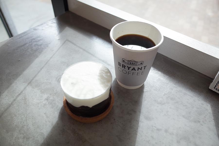 BRYANT COFFEコーヒーゼリー