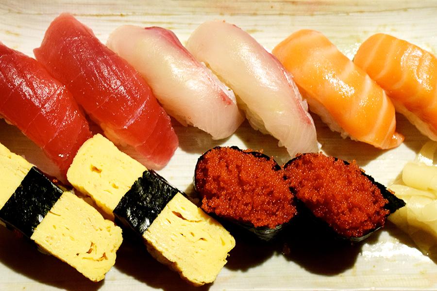 寿し割烹 はく田寿司ランチ
