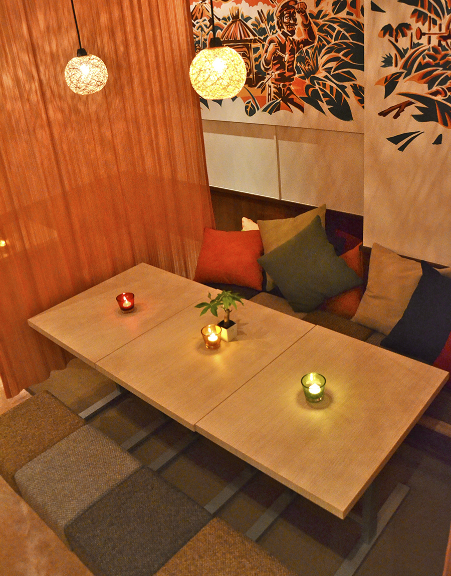 hole hole café&diner 小上がりの個室