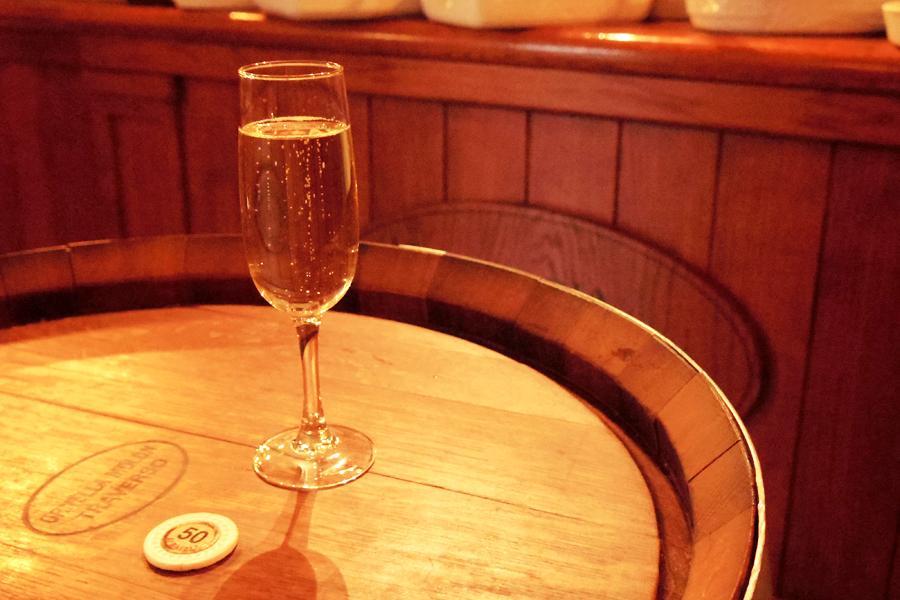 OSTERIA BARABABAOスパークリングワイン