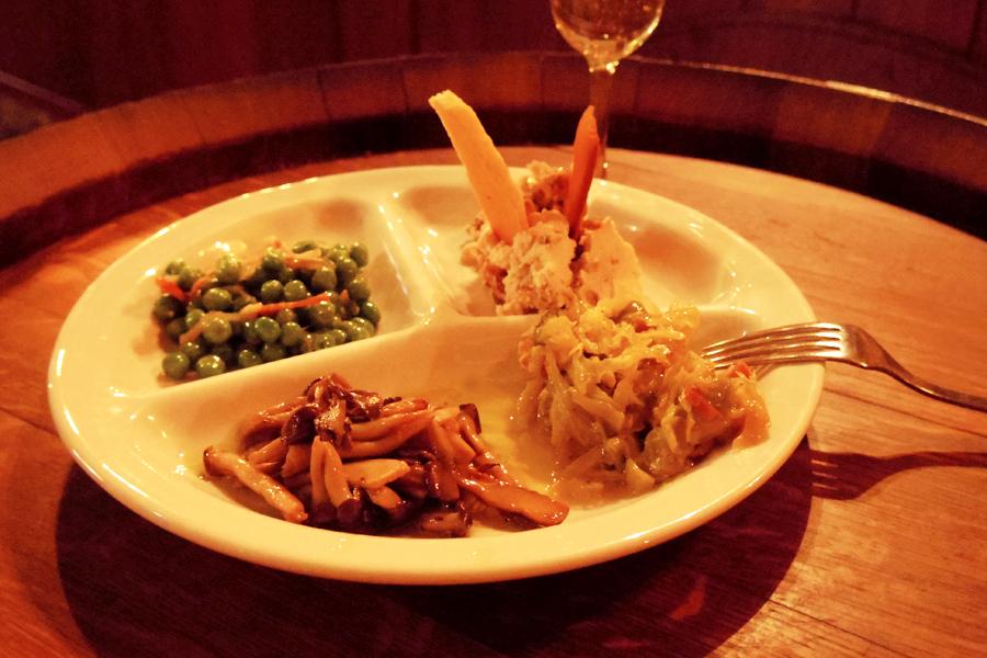 OSTERIA BARABABAO野菜料理4品