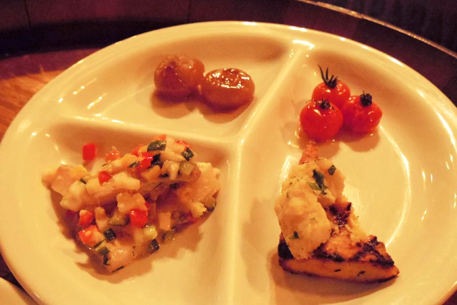 OSTERIA BARABABAO追加料理4品