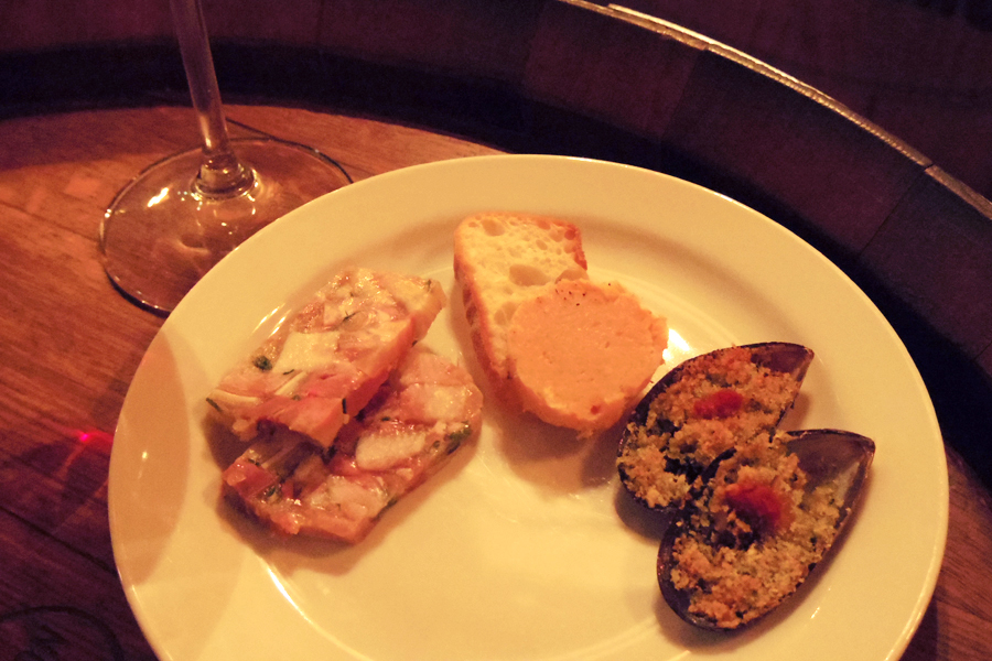 OSTERIA BARABABAO追加料理3品