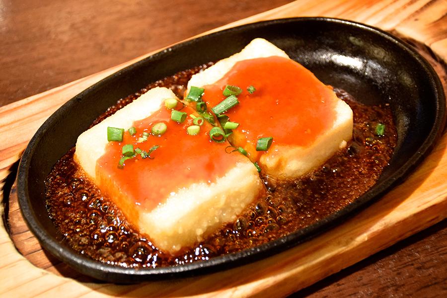 楽空豆腐ステーキ