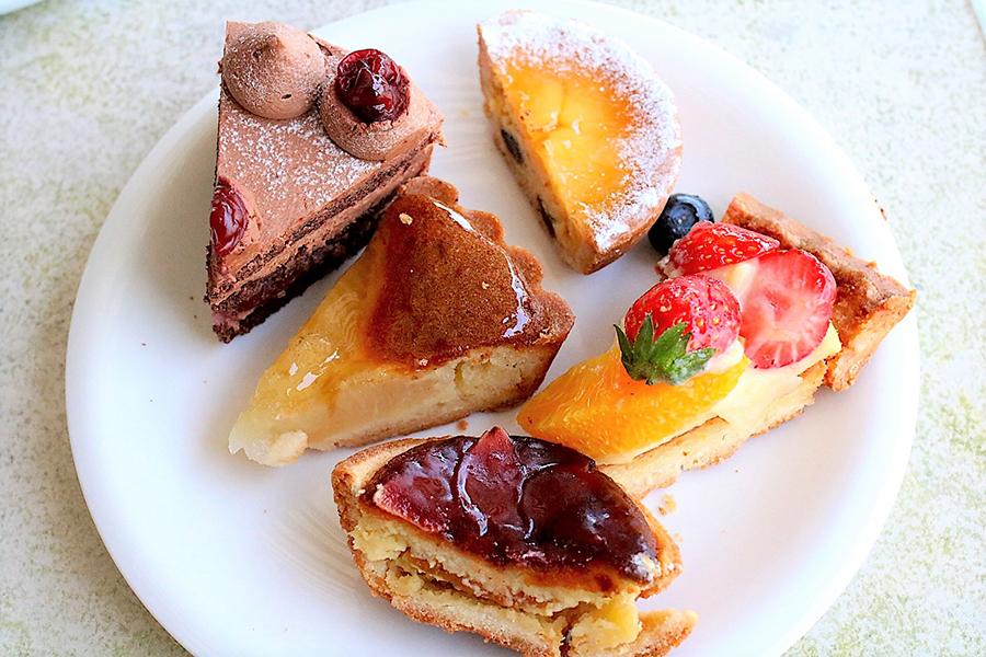 エスプリ・ド・ビゴ ケーキ、タルト