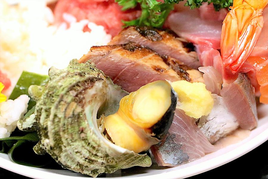 割烹さいとう海鮮丼アップ2
