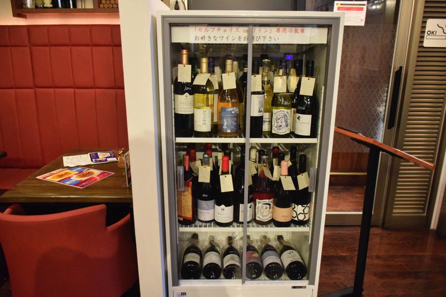 ポポラマーマ御徒町店 ボトルワイン