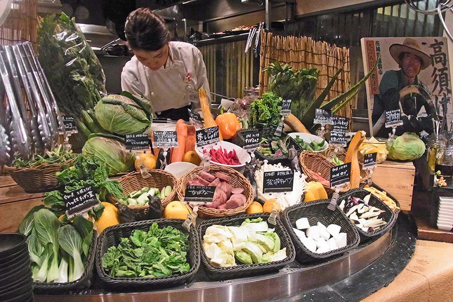農家の台所 サラダバー