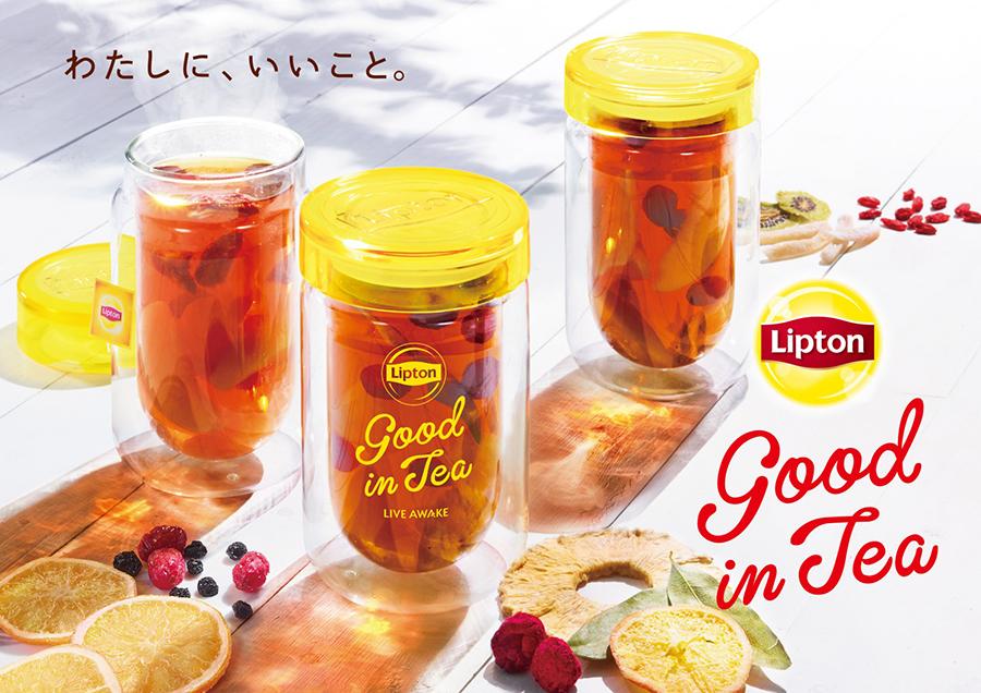 期間限定ショップ Lipton Good in Tea OMOTESANDO