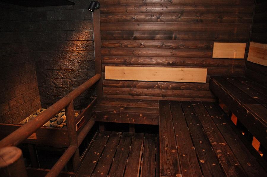 東京ドーム天然温泉 スパ ラクーアサウナ
