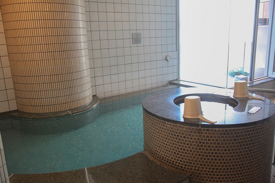 東京ドーム天然温泉 スパ ラクーア水風呂