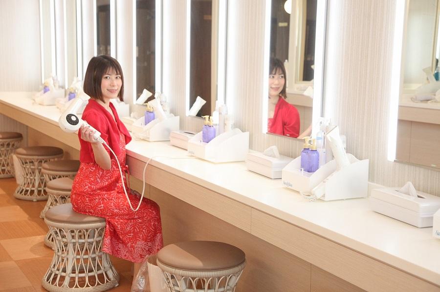 東京ドーム天然温泉 スパ ラクーア仮眠スペース