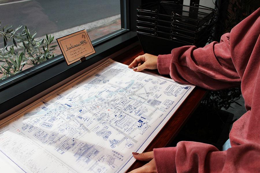 カキモリ 散策MAP