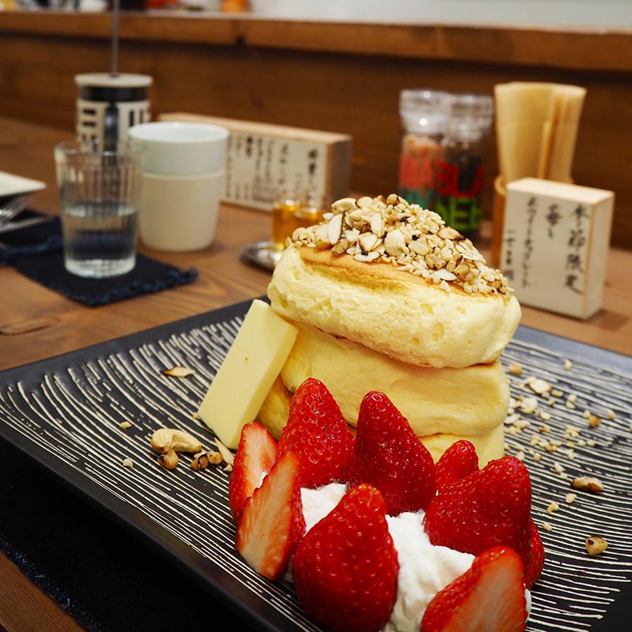 紅鶴 パンケーキ