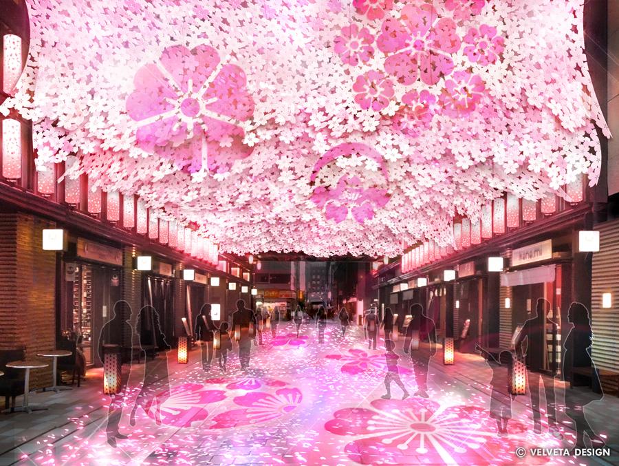 日本橋 桜フェスティバル