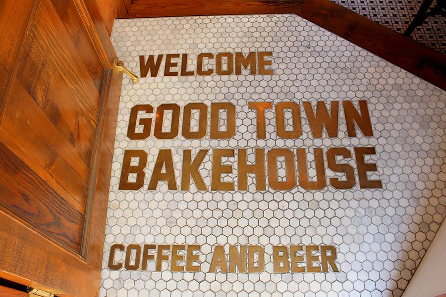GOOD TOWN BAKEHOUSE ウェルカムメッセージ