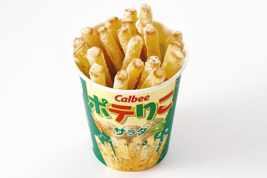 カルビープラス 原宿竹下通り店 ポテりこ サラダ