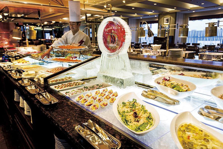 帝国ホテル 東京 ブフェレストラン インペリアルバイキング サール