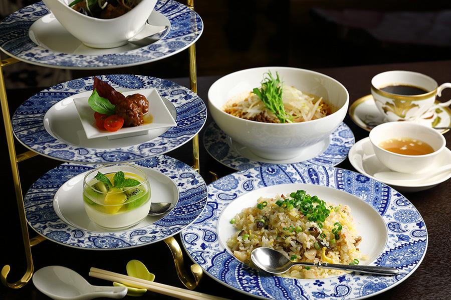 会席中華料理 上野 池之端 古月 平日限定ランチセット