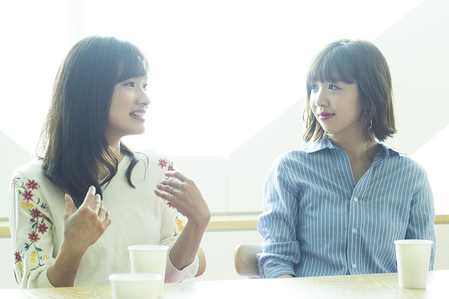 藤井綾夏さん、畑瀬愛さん