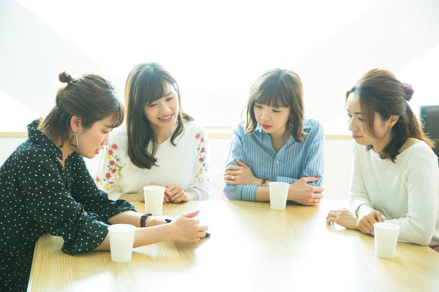 渡辺真由子さん、藤井綾夏さん、畑瀬愛さん、安西さん
