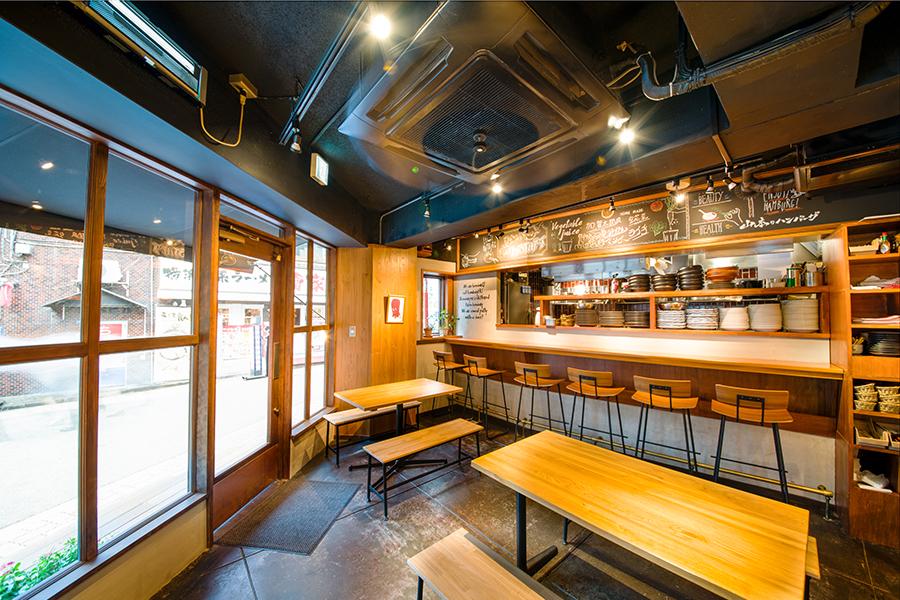 山本のハンバーグ 渋谷食堂 店内