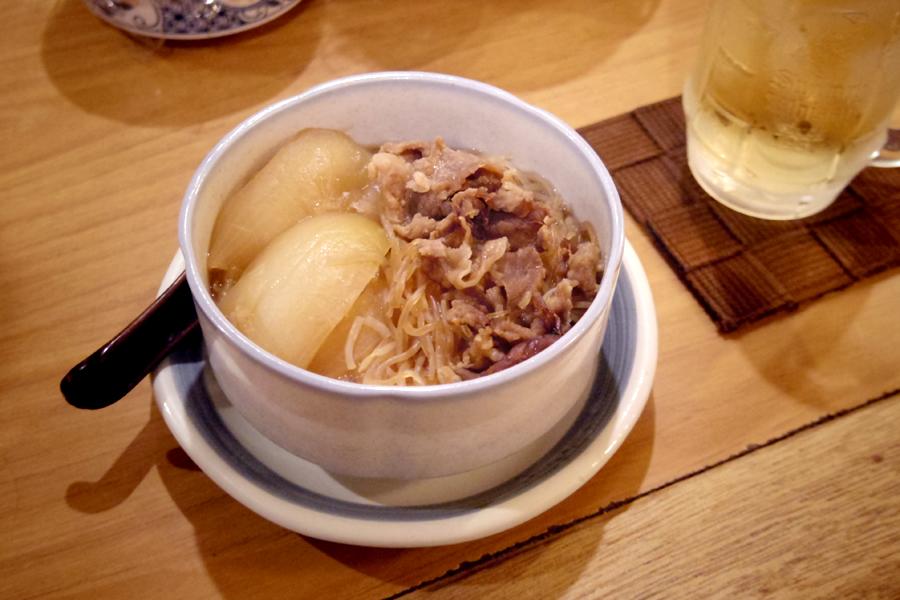 「壹番館」肉豆腐
