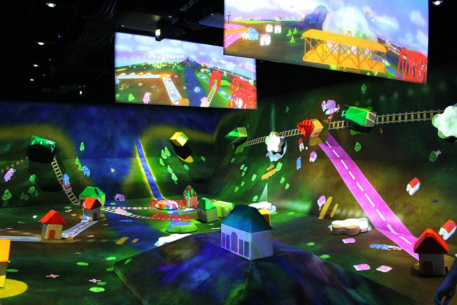 MORI Building DIGITAL ART MUSEUM: EPSON teamLab Borderless_学ぶ!未来の遊園地