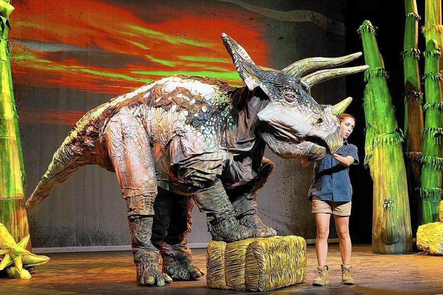 恐竜どうぶつ園 恐竜ショー
