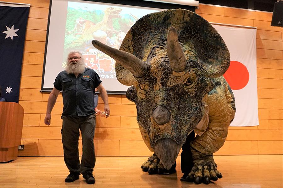 恐竜どうぶつ園 トリケラトプス