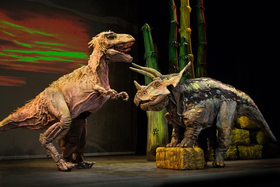 恐竜どうぶつ園 トリケラトプス、ティラノザウルス