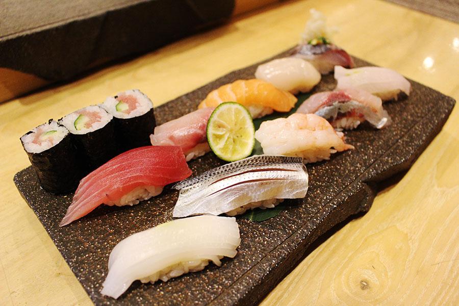 鮨◯☓「握り寿司10貫」