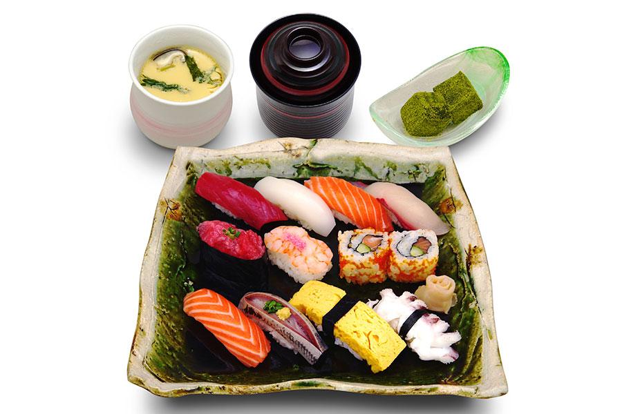 築地寿司清 渋谷店「握り1.5人前」