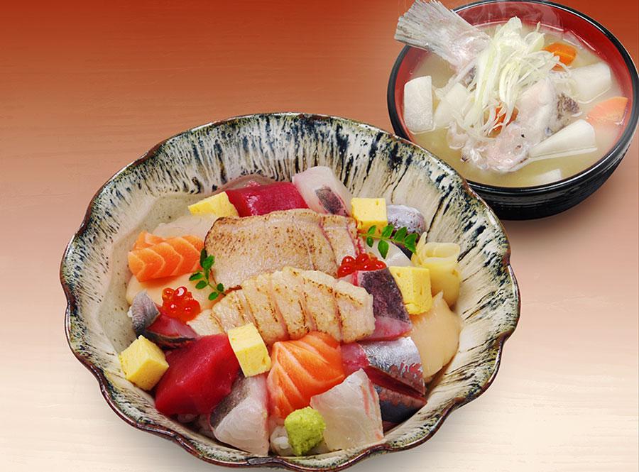 築地寿司清 渋谷店「ぶつ切り丼」