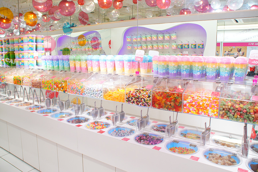 Totti candy factory 原宿店_内観