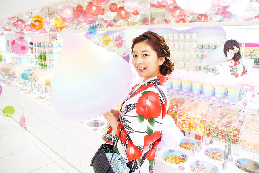 Totti candy factory 原宿店_わたあめ