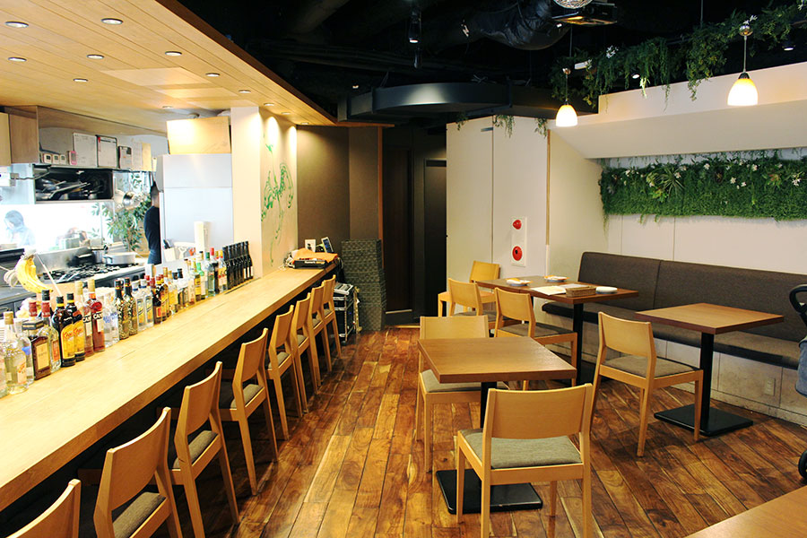 Banks cafe & dining渋谷内観
