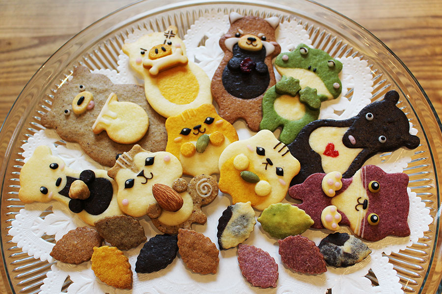 henteco 森の洋菓子店どうぶつクッキー