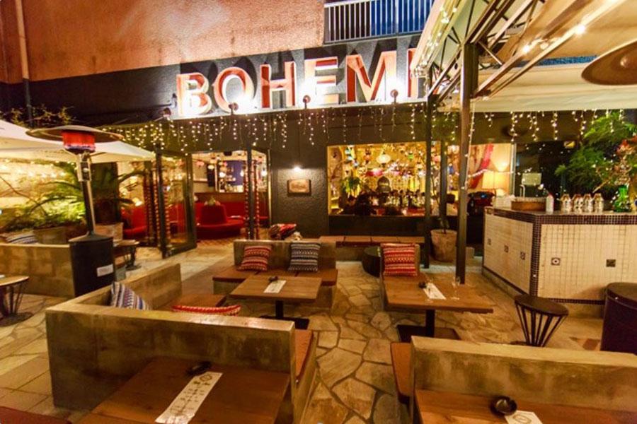 Cafe BOHEMIAテラス