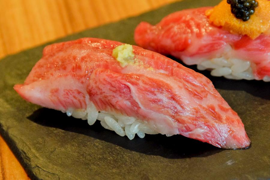恵比寿kintan 和牛の握り寿司