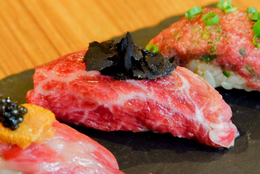 恵比寿kintan 和牛のトリュフ寿司