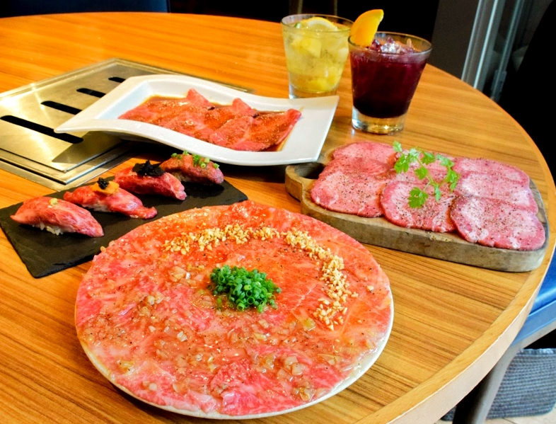 恵比寿kintan 生肉と焼肉